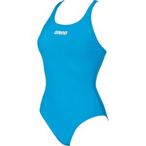 arena Solid Swim Pro One Piece Swimsuit turquoise-white