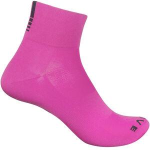 GripGrab Lightweight SL Short Socks pink hi-vis pink hi-vis
