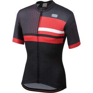Sportful Team 2.0 Drift Jersey Men Black/Anthracite/Red