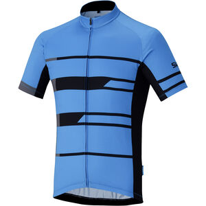 Shimano Team Kurzarm Trikot Herren blue blue