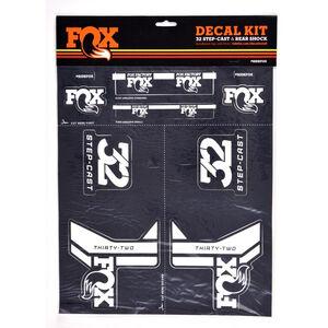 Fox Racing Shox AM Step-Cast Aufkleber-Set white/grey white/grey