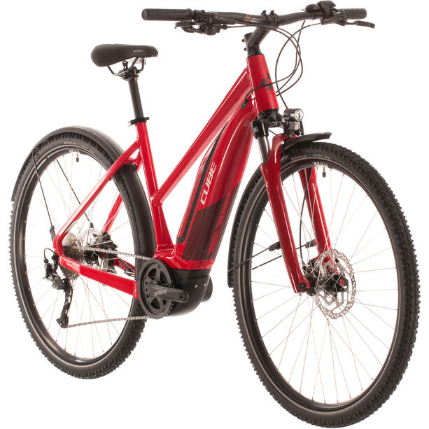 Cube Nature Hybrid One 500 Allroad Trapez red/red
