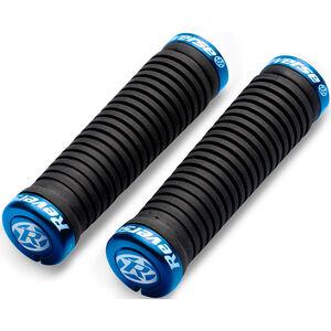 Reverse Taper Griffe Ø30mm schwarz/blau schwarz/blau