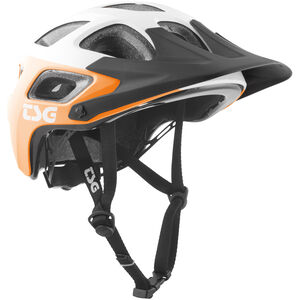 TSG Seek Graphic Design Helmet block acid orange-white block acid orange-white