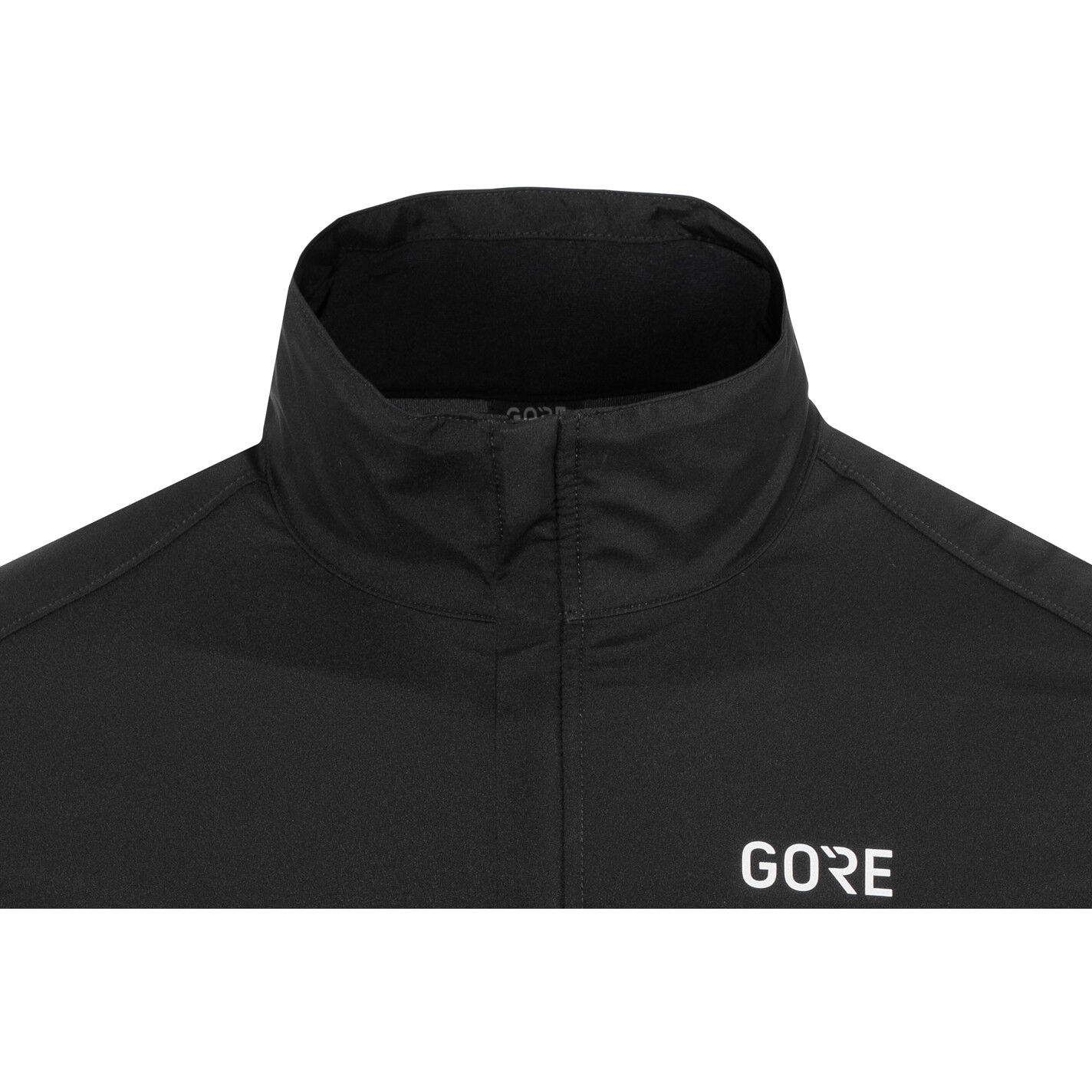 GORE WEAR R3 Partial Gore Windstopper Jacket Herren blackneon yellow