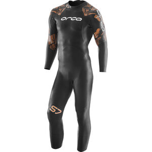 ORCA S7 Fullsleeve Wetsuit Herren black black