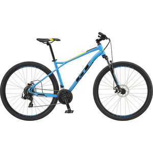 "GT Bicycles Aggressor Sport 27.5"" gloss cyan blue gloss cyan blue"