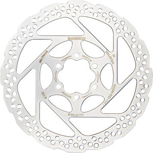 Shimano Deore SM-RT56 Bremsscheibe 6-loch silber silber