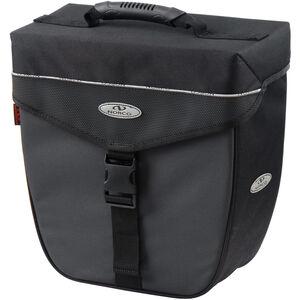 Norco Orlando City-Case Gepäckträgertasche schwarz/grau