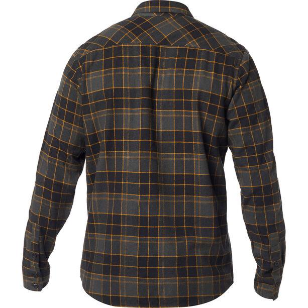 Fox Traildust 2.0 Flannel Langarmshirt Herren black