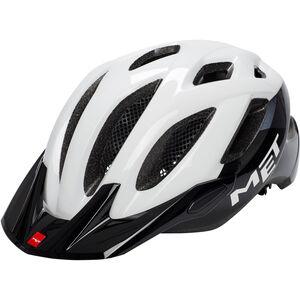 MET Crossover Helm white/black white/black