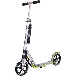 HUDORA Big Wheel City Scooter Kinder grün/silber grün/silber