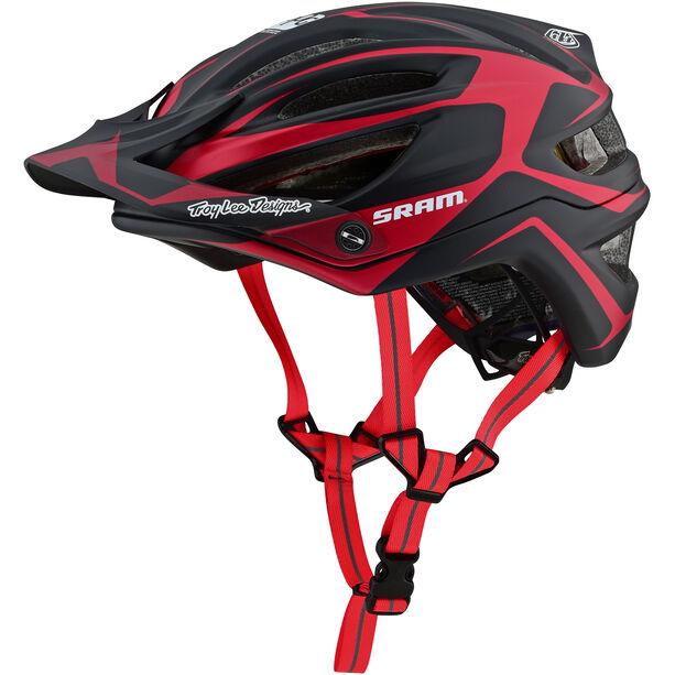 Troy Lee Designs A2 Dropout MIPS Helmet sram/red