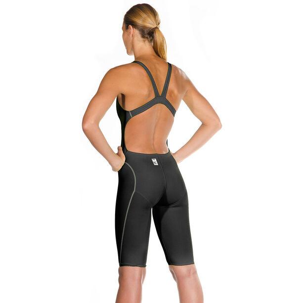 Head Liquidfire Power Open Back Knee Suit Damen black/silver