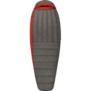 Sea to Summit Flame FmIV Sleeping Bag Long Damen dark grey/paprika dark grey/paprika