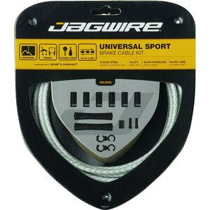 Jagwire Sport Universal Bremszugset für Shimano/SRAM weiß