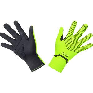 GORE WEAR C3 Gore-Tex Infinium Stretch Mid Handschuhe neon yellow/black neon yellow/black