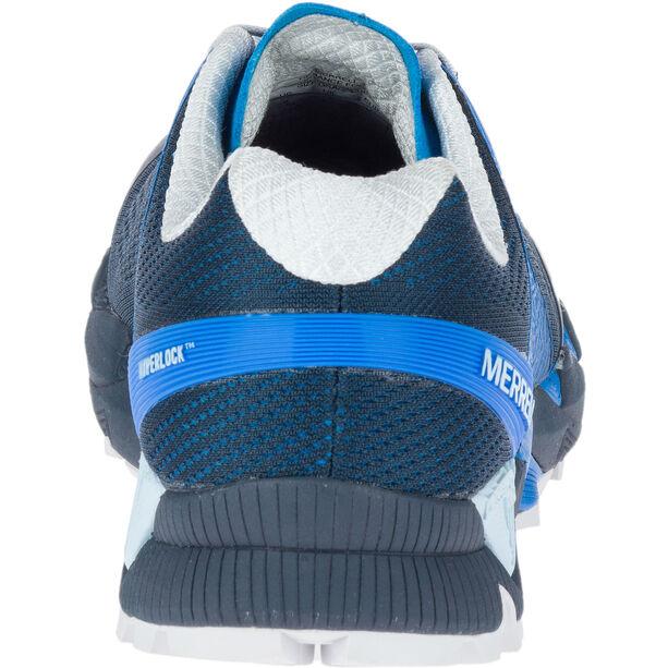 Merrell Agility Peak Flex 2 E-Mesh Shoes Herren directoire blue directoire blue