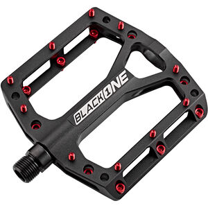 Reverse Black One Pedals black/red black/red