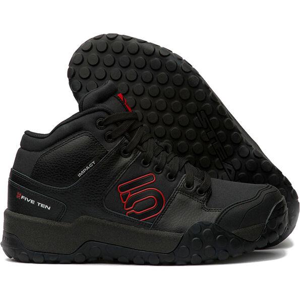 adidas Five Ten Impact High Shoes Herren black/red