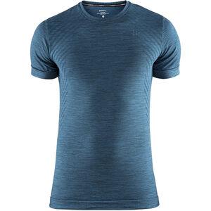 Craft Fuseknit Comfort Round-Neck SS Shirt Men fjord melange bei fahrrad.de Online