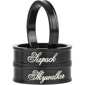 "Sixpack Skywalker Spacer 1 1/8"" black black"