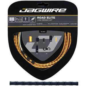 Jagwire Road Elite Link Bremszugset schwarz schwarz