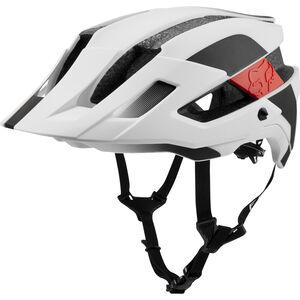 Fox Flux Mips Conduit Trail Helmet Herren white/black white/black