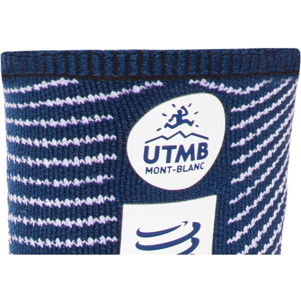 Compressport Pro Racing V3.0 Ultra Trail UTMB 2019 Socken blue