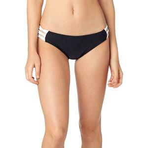 Fox Bolt Lace Up Bikini Bottom Women black