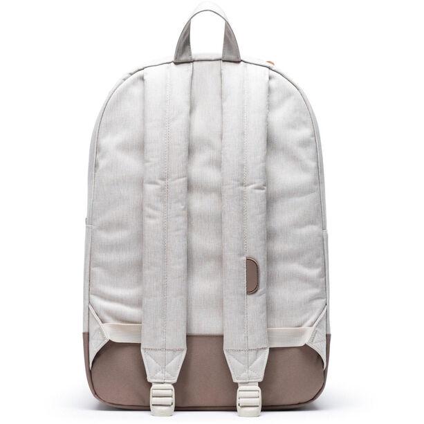 Herschel Heritage Backpack overcast crosshatch/pine bark