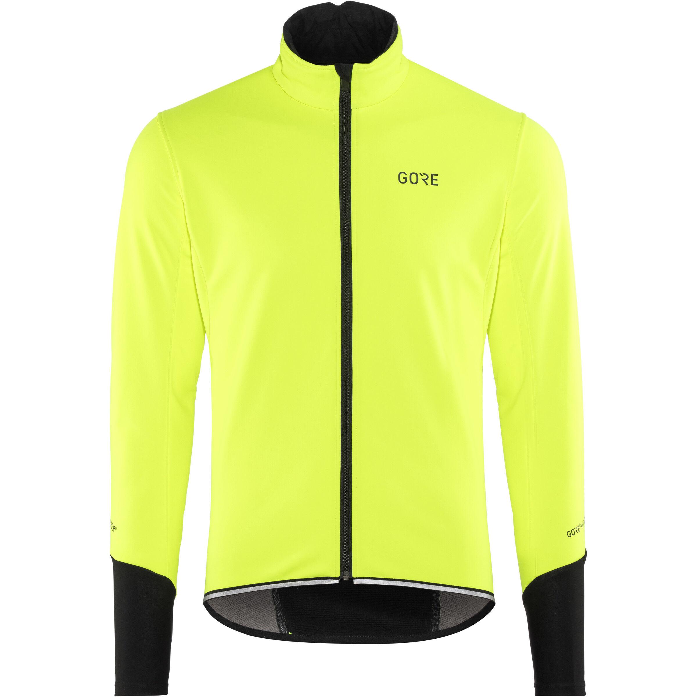GORE WEAR C5 Windstopper Thermo Jacket Herren neon yellowblack