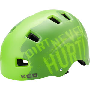 KED 5Forty Helmet Kinder dirt green dirt green
