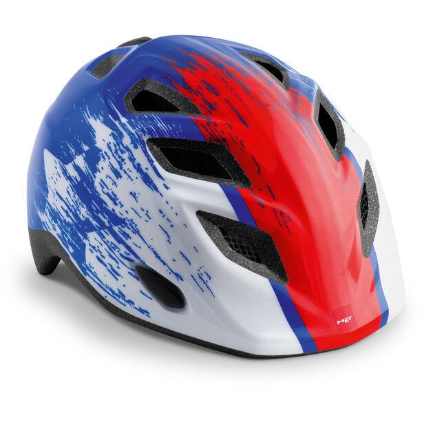 MET Elfo Helm Kinder blue red hero