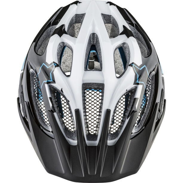 Alpina FB 2.0 Flash Helmet Jugend black-white-blue