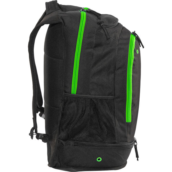 arena Fastpack Core Backpack black-fluo green-white