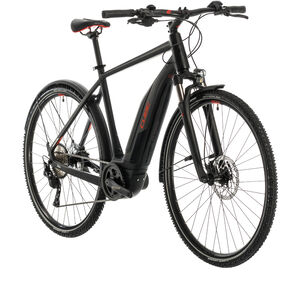 Cube Nature Hybrid EXC 500 Allroad black/red black/red