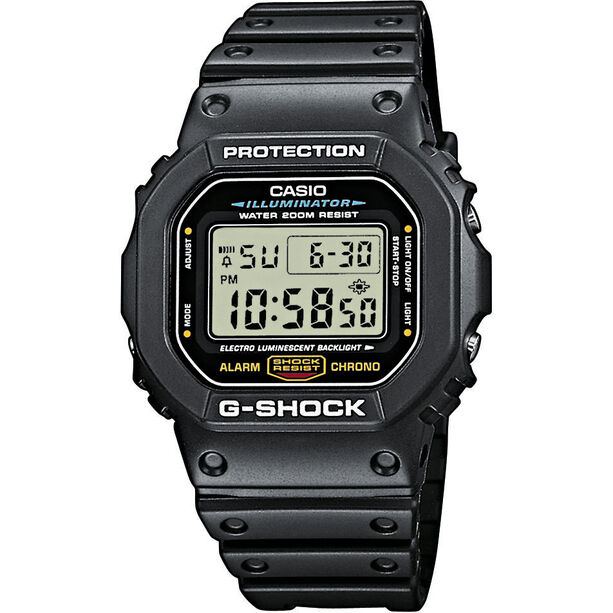 CASIO G-SHOCK DW-5600E-1VER Watch Men black