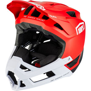 100% Trajecta Helmet red red