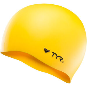 TYR Silicone Cap No Wrinkle yellow yellow
