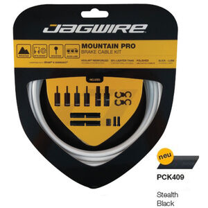Jagwire Mountain Pro Bremszugset stealth black stealth black
