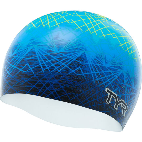TYR Slow Fade Silicone Swim Cap