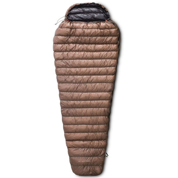 Yeti Passion One Sleeping Bag XL brown/black