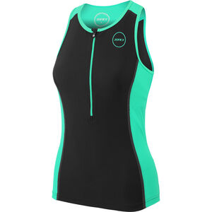 Zone3 Aquaflo+ Tri Top Damen black/mint black/mint
