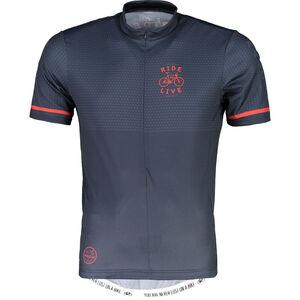 Maloja PushbikersM. Basic Short Sleeve Bike Jersey Men mountain lake