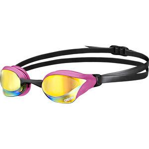 arena Cobra Core Mirror Goggles pink revo-pink-black pink revo-pink-black