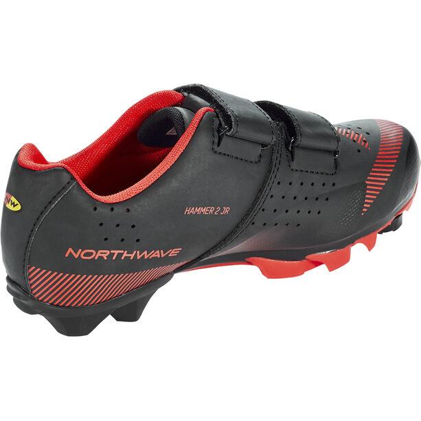 Northwave Hammer 2 Shoes Kinder black/red
