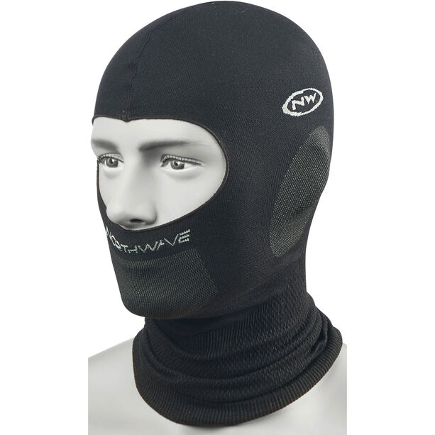 Northwave Balaclava Plus Headcover Herren black