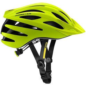 Mavic Crossride SL Elite Helmet Herren safety yellow/black safety yellow/black