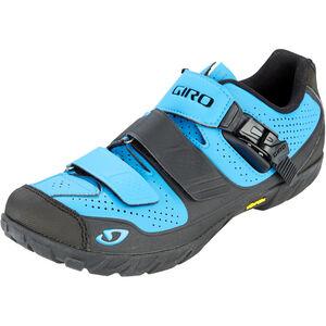 Giro Terraduro Shoes Herren blue jewel/black blue jewel/black